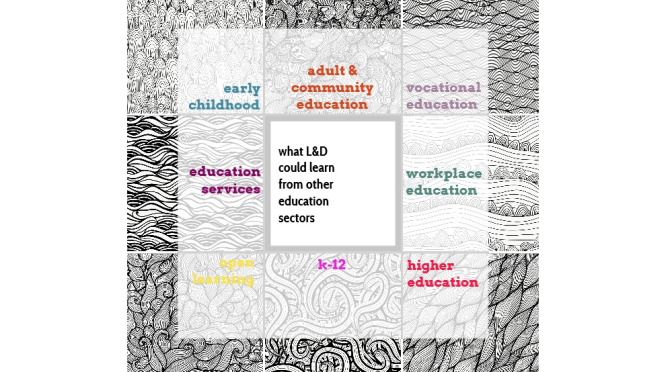 what L&D could learn from other education sectors
