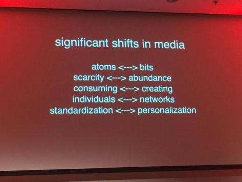 Media and learning shifts