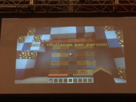 Minecraft Mineclass Challenge